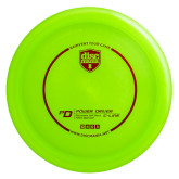 Discmania PD Power DriverC-Line plastic Green with red stamp