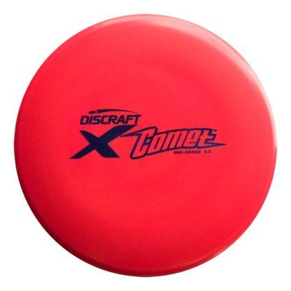 Discraft Comet - Red X plastic - Black Stamp