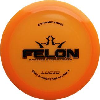 Orange Lucid Felon - Black stamp