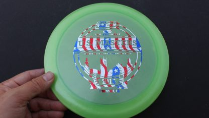 Innova Luster Destroyer green with flag stamp