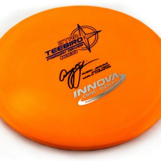 Innova Star Teebird Orange with black and gold double stamp