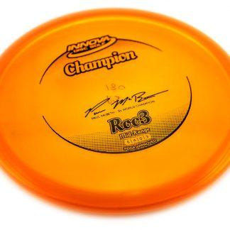Roc3 - Champion Orange - Black stamp