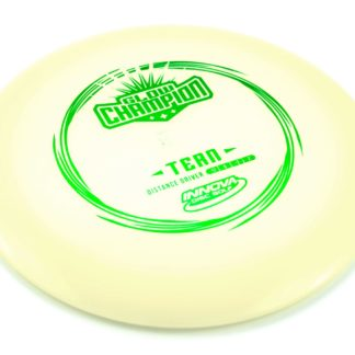 Glow Champion Tern - White Glow with Green foil stamp