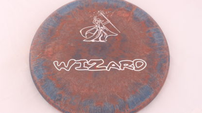 Gateway Swirly Wizard in red/copper with blue swirls. Picture by OTB Discs.