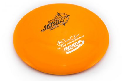 Innova Star Wraith Orange with black and silver stamp 12x Ken Climo