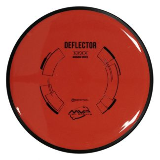 Axiom Discs Deflector Red with black rim and black stamp