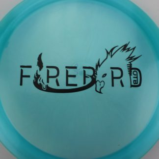 Innova OTB Bar Stamp Firebird blue with black stamp