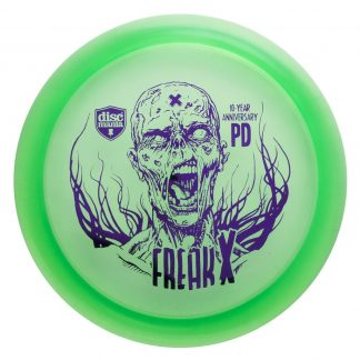 10 year anniversary PD C line green with purple stamp freak