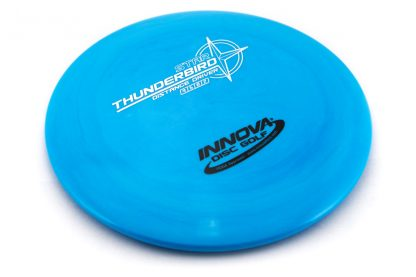 Innova Star Thunderbird with blue plastic and a silver and black stamp