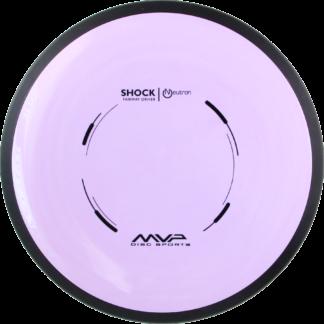 MVP Disc Sports Shock with purple neutron plastic