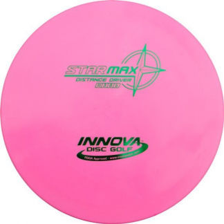 Innova Max in pink Star plastic with a green stamp