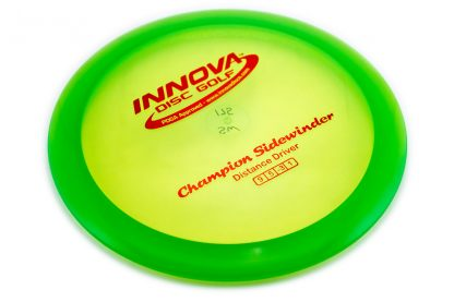 Innova Champion Sidewinder green with red stamp