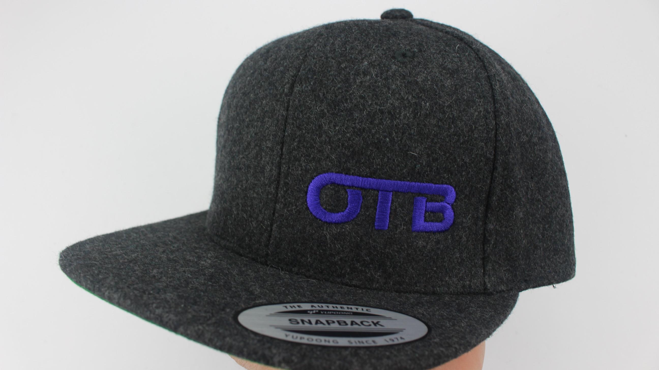 78aabeff749 Flatbill Snapback Hat - dark-heather-wool - 1264 - purple