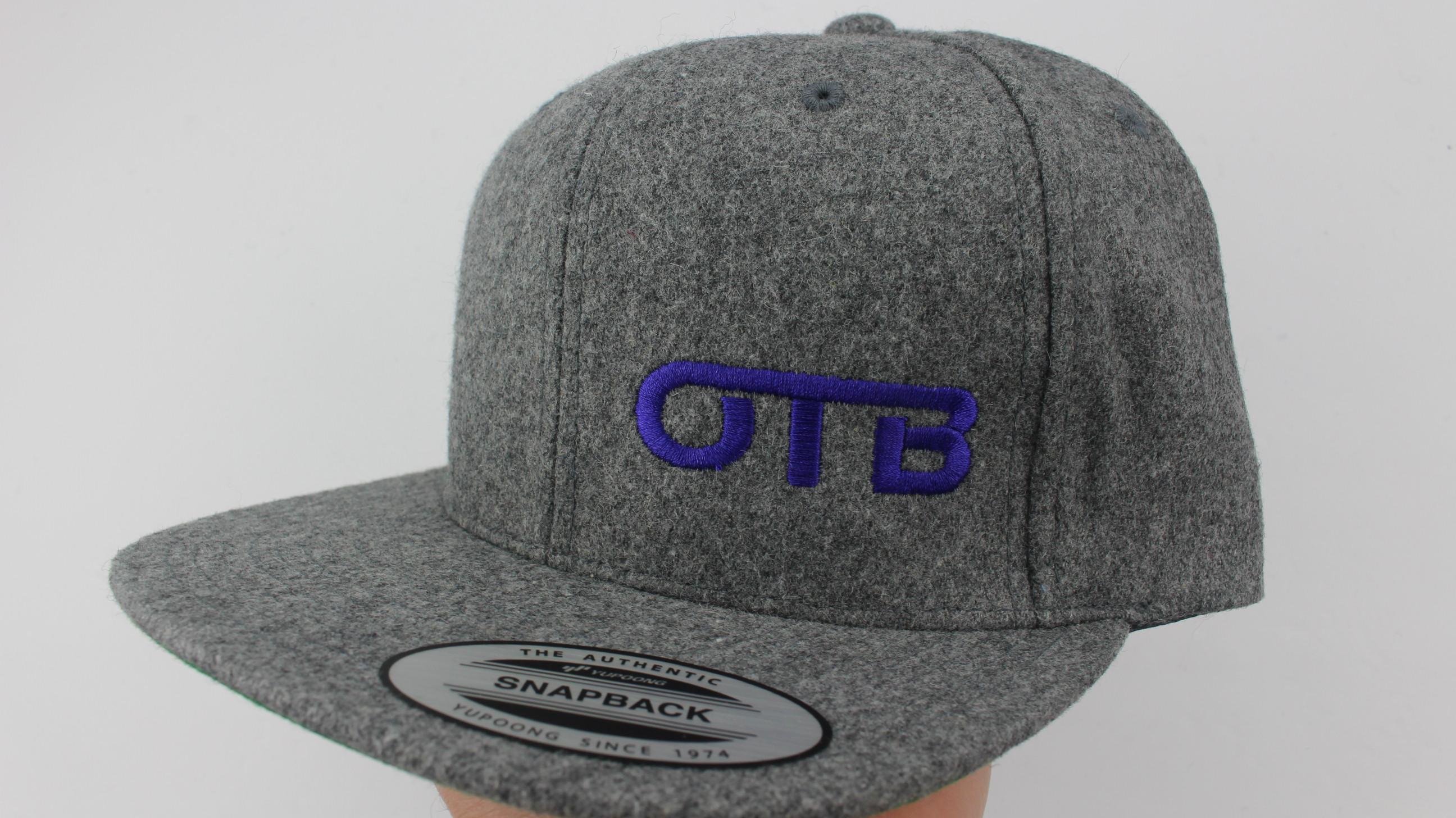 2e8e2cfe087 Flatbill Snapback Hat - heather-wool - 1264 - purple