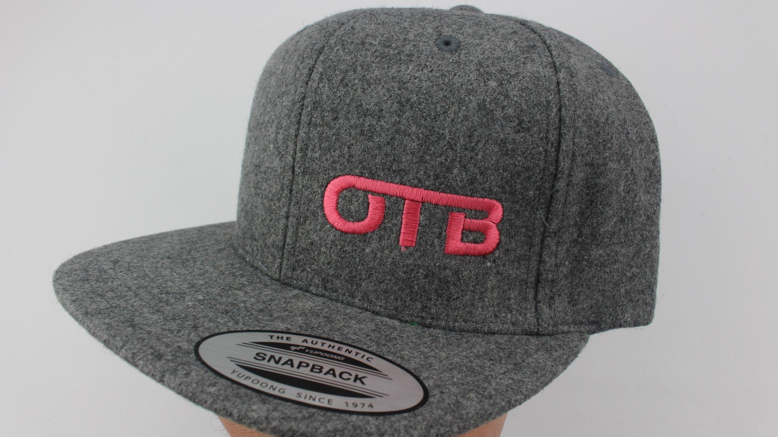 b898297c938 Flatbill Snapback Hat - heather-wool - 1264 - pink