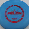 Felon - light-blue - biofuzion - red - 304 - 173g - 3311 - pretty-flat - neutral