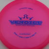 Verdict - pink - lucid - blue - 170g - 3311 - somewhat-flat - neutral