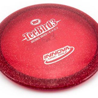 Innova Teebird3 Metal Flake Red with white stamp