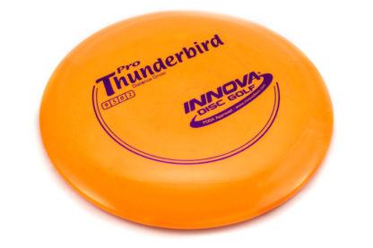 Innova Pro Thunderbird Orange with blue stamp