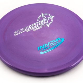 Innova Gator Purple Star plastic with white and blue stamp