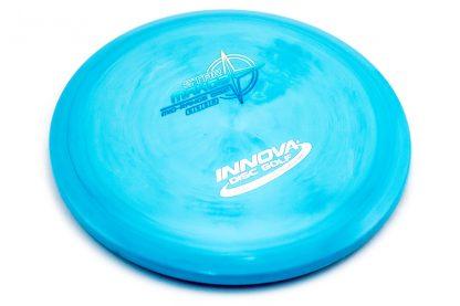 innova Mako3 in blue star plastic.