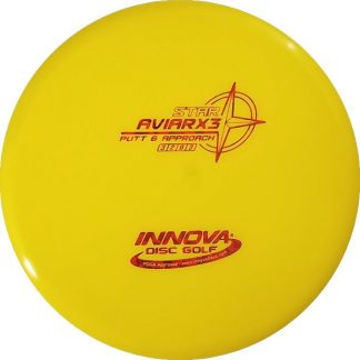 Innova AviarX3 Yellow Star Plastic with red stamp