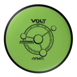 MVP Volt in green fission plastic with black rim and black stamp.