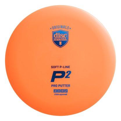 Soft P Line P2 - Orange with Blue foil