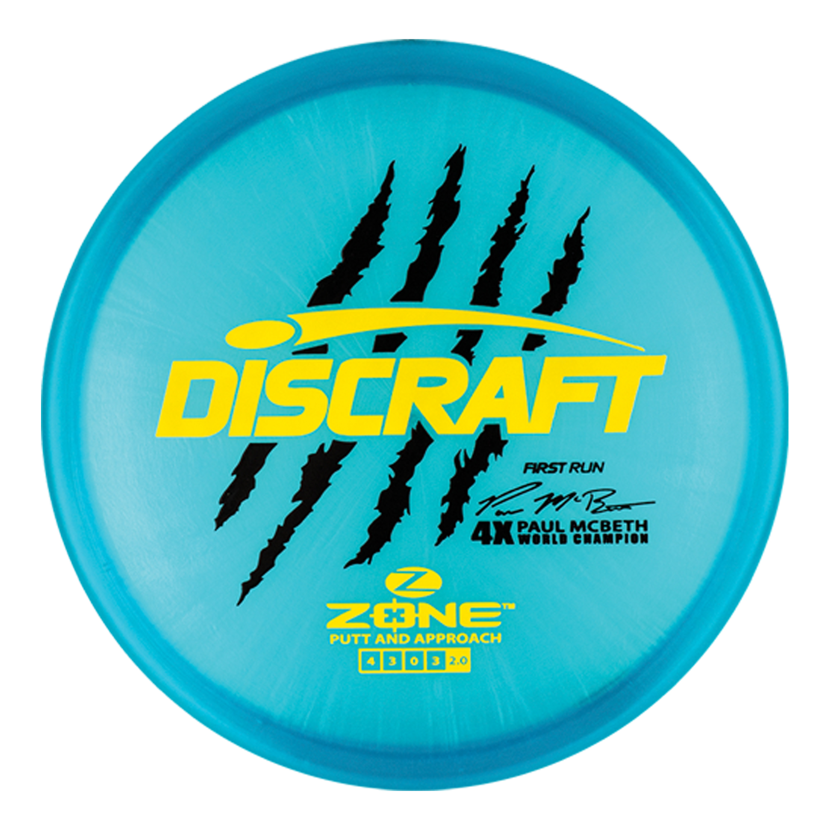 01b493c59df Zone - Paul McBeth 4x - Z - First Run - Only the Best Discs