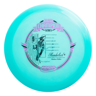 Madison Walker Glow Champion Thunderbird. Blue plastic