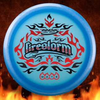 Innova FIrestorm XXl 2-foil Blu Champion w/ Red and Black Stamp