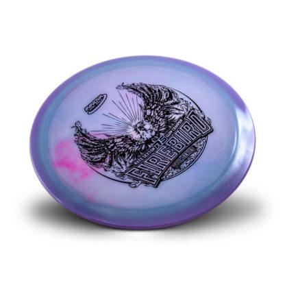 Sexton Firebird Blue/Pink Swirl