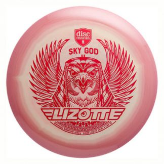 Swirly S-Line P2 Sky God Red stamp