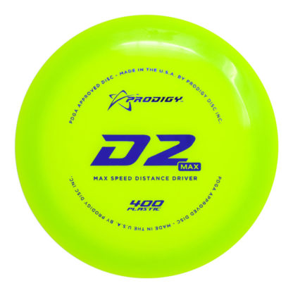D2 Max Green 400 with Blue stamp