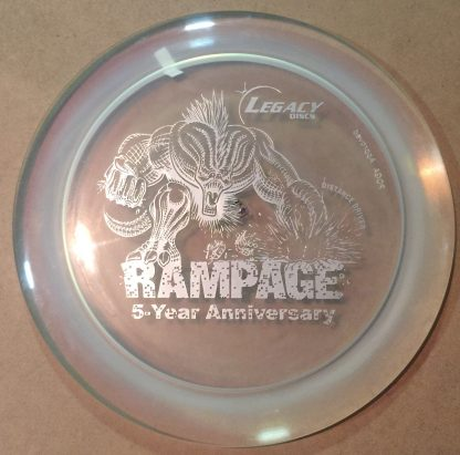 5 Year Rampge - Clear with Silver