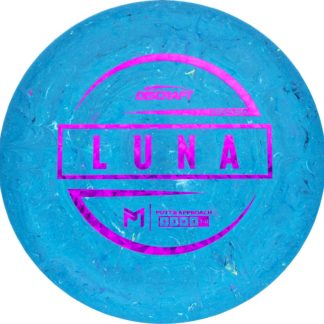 Discraft Luna First Run Paul McBeth Blue with Fuchsia Stamp