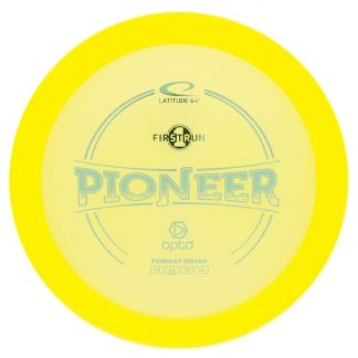 Yellow Opto 1st Run Pioneer - Light Blue stamp