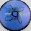 Motion - Plasma - SE - blend-bluepurple - black - gold - black - silver - 154g - somewhat-domey-in-the-center - somewhat-gummy