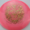 FD2 - Glow C-Line - Leo Piironen Royal Rage - glow-pink - gold-shatter-dots - 175g - somewhat-flat - neutral