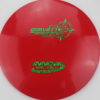 Corvette - red - star - green-fracture - 304 - 175g - 3311 - pretty-domey - neutral