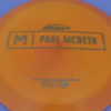 Kong - Paul McBeth Prototype - swirly - esp - gold-lines - 170-172g - somewhat-domey - somewhat-stiff