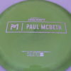 Zeus - Paul McBeth Prototype - silver-dots-small - 170-172g - 3311 - neutral - somewhat-stiff