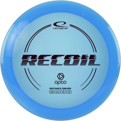 1st Run Latitude 64 Recoil - Blue with Black foil
