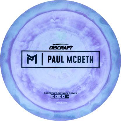 Purple Kong Swirl - Black McBeth stamp