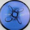 Motion - Plasma - SE - bluepurple - black - blue-light-blue-fade - black - silver - 154g - somewhat-domey - somewhat-gummy