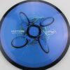 Motion - Plasma - SE - bluepurple - black - blue-light-blue-fade - black - silver - 165g - somewhat-domey-in-the-center - somewhat-gummy