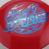 Corvette - Star - 2-Foil XXL - red - star - blue - pastel-party-time - 175g - neutral - neutral
