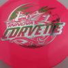 Corvette - Star - 2-Foil XXL - pink - star - silver - green-fracture - 175g - neutral - neutral