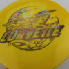 Corvette - Star - 2-Foil XXL - yellow - star - dark-gold - acid-party-time - 175g - somewhat-domey - neutral