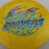 Corvette - Star - 2-Foil XXL - yellow - star - blue-fracture - purple - 175g - somewhat-domey - neutral